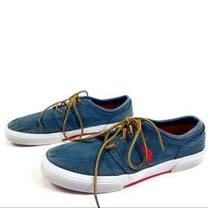 Polo Ralph Lauren Falcon Low Canvas Shoe 10.5